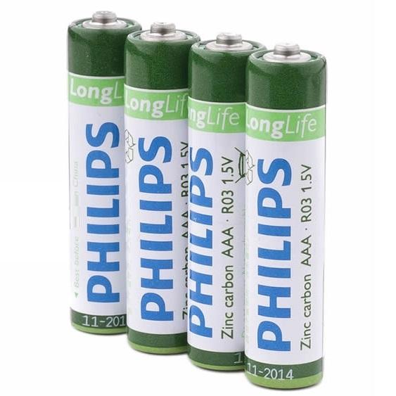 Philips AAA batterijen (4 stuks)