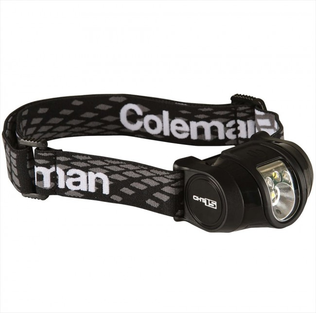 Coleman multi color led hoofdlamp