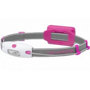 Led Lenser hoofdlamp NEO roze